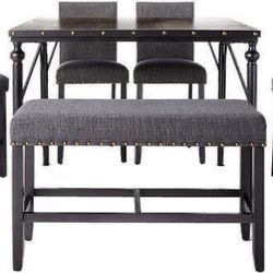 New Roundhill Furniture Biony Counter Height Dining Table for Sale in Los Angeles,  CA
