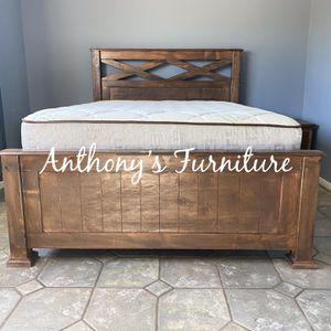 Queen Bed & Bamboo Set for Sale in Norwalk, CA