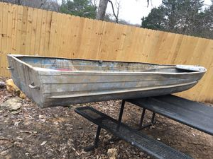 Aluminum boat 14'. {contact info removed} for Sale in Nashville, TN