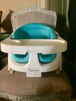 Ingenuity baby base 2-1 booster seat for Sale in Glenshaw, PA