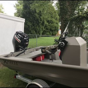 2017 Express 18' Center Console With 70 HP Suzuki Outboard Motor for Sale in Baltimore, MD