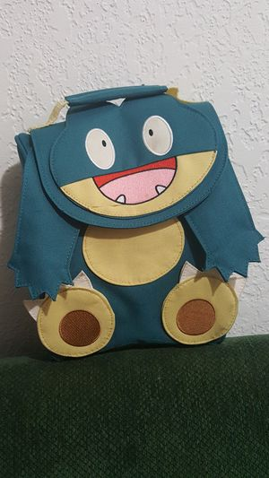 Munchlax lunch bag - Pokemon - never used for Sale in Federal Way, WA