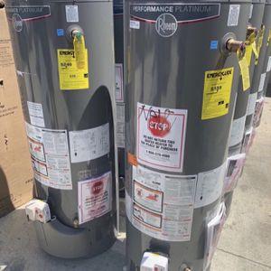 New Water Heater Rheem Performance Platinum - Free Installation for Sale in Garden Grove, CA