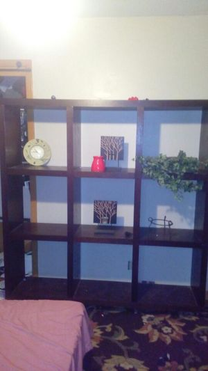 WOODEN STORAGE/DISPLAY SHELVES for Sale in Omaha, NE