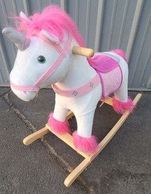 $$$40$$$ Kids Plush Toy Rocking Horse for Sale in Los Angeles, CA