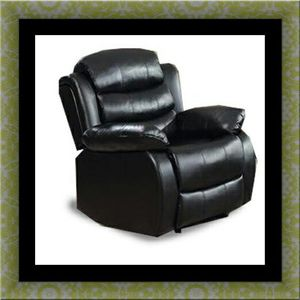 Black recliner chair call for Sale in Alexandria, VA