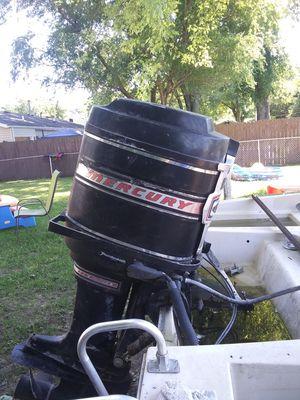 Mercury 125 horsepower boat motor. {contact info removed} ask for mike for Sale in Caseyville, IL