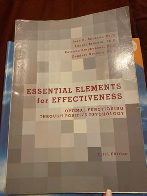 Essential elements for effectiveness 5th edition for Sale in Miami, FL