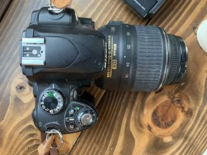 Nikon D60 Digital Camera with lens for Sale in Maple Valley, WA
