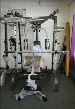Marcy Smith Cage Workout MachinBody Training Home Gym System with Linear Bearing (no weight come with it )it's wholsale firm price no offer 🔥 for Sale in Lawndale, CA