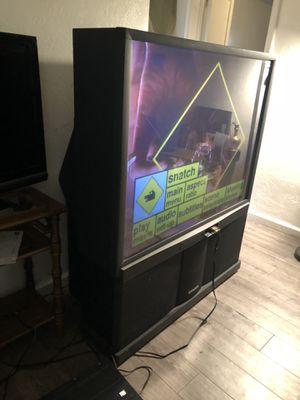 Hatachi 50 inch TV home theater combo for Sale in Salt Lake City, UT
