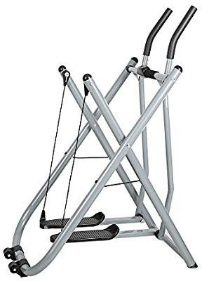 Livebest Folding Fitness Step Machine Air Walk Trainer Exercise Stepper Glider with LCD Display for Home,Office and Gym        for Sale in Dallas, TX