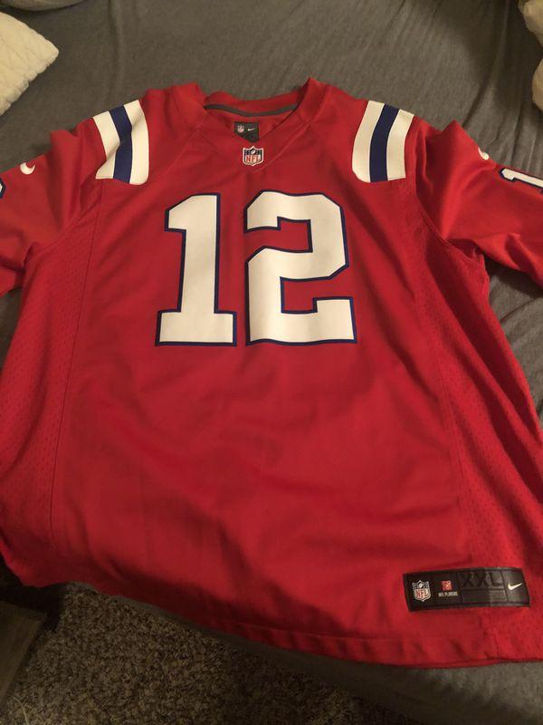 Patriots Brady Jersey AFL throw back XXL