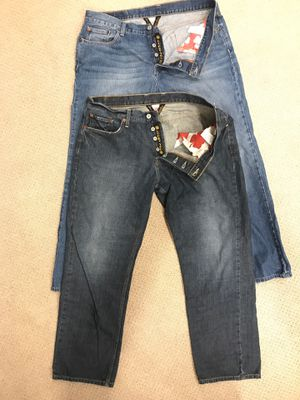 Lucky denium button fly jeans 38 x 32 for Sale in Springfield, VA