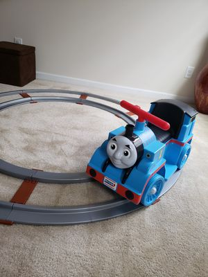 Power Wheels 6V Battery Powered Thomas & Friends Thomas Train with Track for Sale in Southeast Raleigh, NC