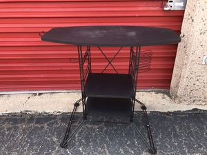 small l beauty salon table and adjustable conair portable hooded hair dryer with wheels for Sale in Lakewood, CO
