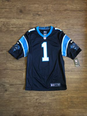 Cam Newton Carolina Panthers Patriots Nike NFL football jersey for Sale in Tempe, AZ