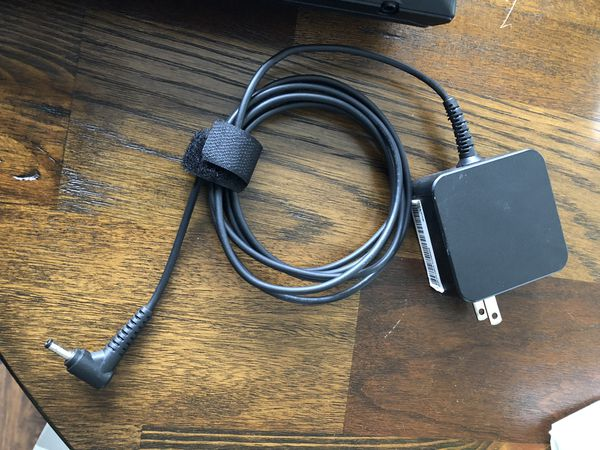 Laptop w/ charger