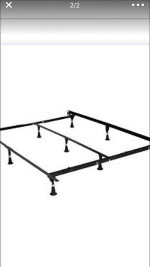 Metal frame bed. For all size ( frame de metal para todas las medidas) for Sale in Grand Prairie, TX