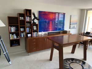 Custom Made Stand-Up Desk, Credenza, and BookShelves for Sale in Miami, FL