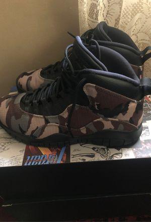 Jordan Retro 10s Camo 10 1/2 for Sale in Macon, GA