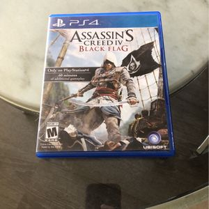 Assassin's creed IV Black Flag Ps4 for Sale in Montebello, CA