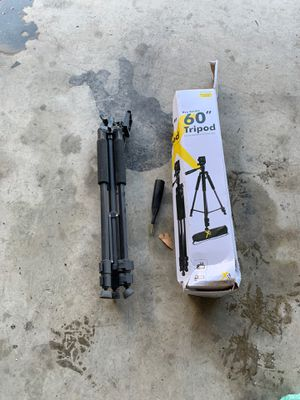 "60"" Tripod for cameras and dslr's for Sale in Reno, NV"