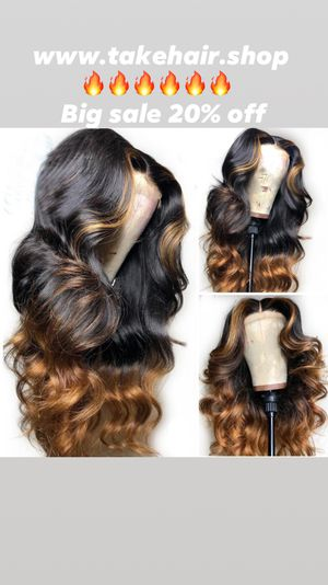 Body wave wig lace Frontal for Sale in Miami, FL