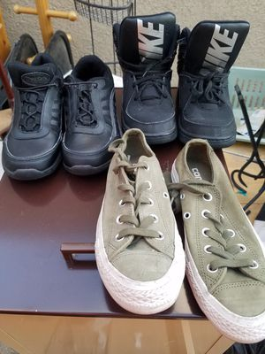 Nike, Converse, and noskid for Sale in Tucson, AZ