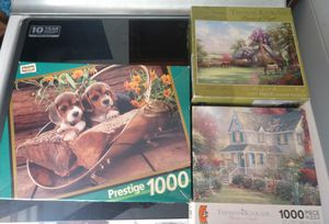 3 set's of puzzles for Sale in Wichita, KS
