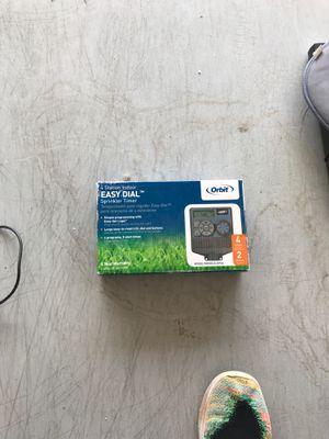 Orbit 4 station sprinkler timer for Sale in Phoenix, AZ