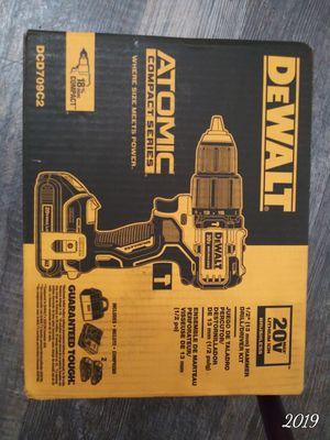 DEWALT ATOMIC 20-Volt MAX Lithium-Ion Cordless Brushless 1/2 in. Compact Hammer Drill Kit DEWALT ATOMIC 20-Volt MAX. Compact Hammer Drill Kit for Sale in Allentown, PA