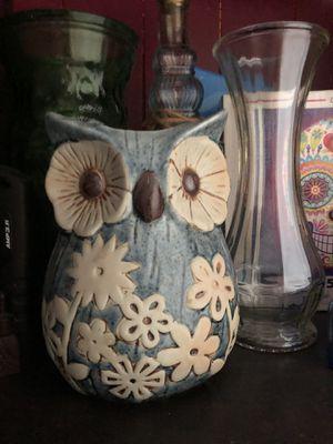 Owl vase, flower pot for Sale in Norfolk, VA