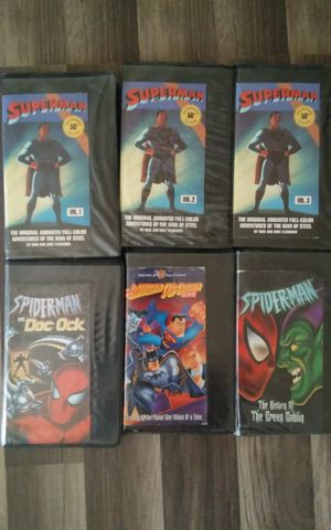 VCR & Superman Tapes for Sale in Midland, TX