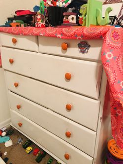 Sleeper Sofa and cupboard (storage cabinet) In $50 for Sale in Nashville,  TN