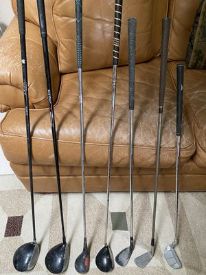 7 used golf clubs all for $25 for Sale in Fresno, CA