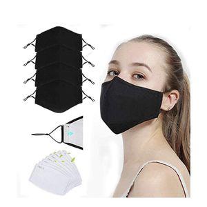 Masks PM2.5 filters set black masks with Filters for Sale in Victorville, CA