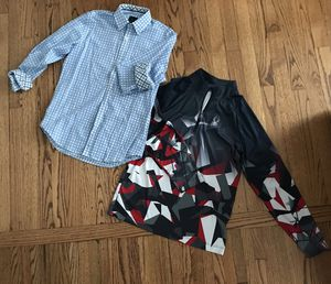 Boys size 16 Spyder zip up and Size 14 Taylorbyrd Dress Shirt for Sale in Lombard, IL
