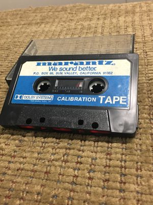 Rare Vintage Marantz Calibration Cassette Tape Sun Valley California for Sale in Portland, OR