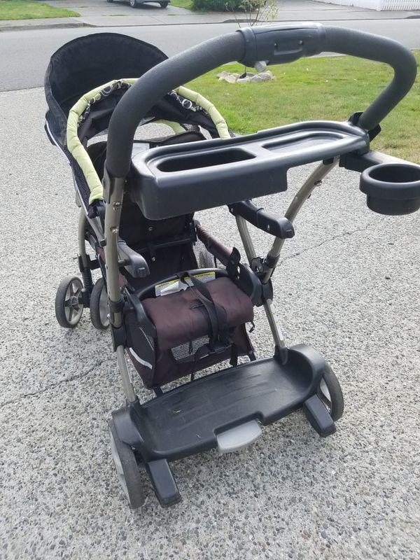 Graco double stroller ready2grow
