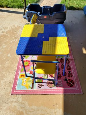 Lego table /kid wagon for Sale in Rancho Cordova, CA