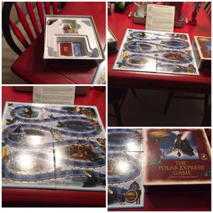 Perfect to add to your holiday tradition! Opened but complete. The Polar Express Board Game! for Sale in Tacoma, WA