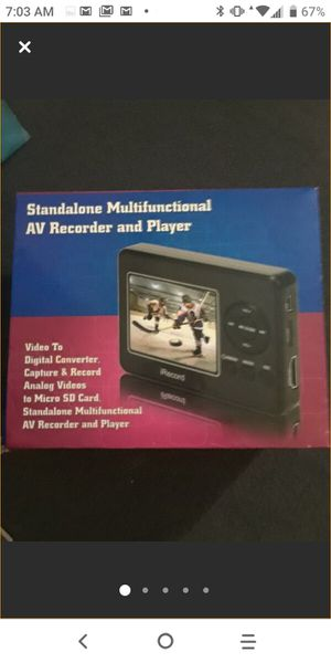 New Standalone Multifunctional AV Recorder and Player for Sale in Clearwater, FL