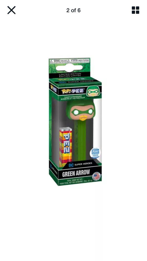 FUNKO POP! PEZ: DC SUPER HEROES