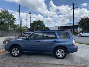2007 Subaru Forester for Sale in San Antonio, TX