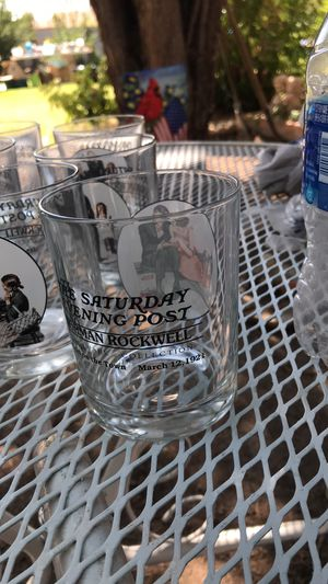 Norman Rockwell collector's glass for Sale in El Paso, TX