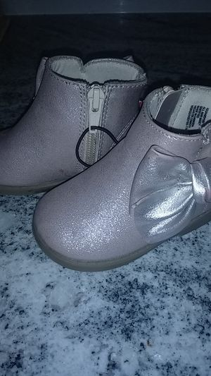 Baby Girl boots size 4 for Sale in Joint Base Lewis-McChord, WA