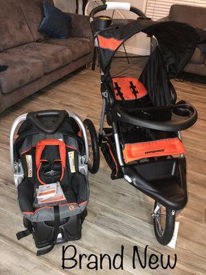 Baby Trend Expedition Jogger Travel System, Millennium Orange for Sale in Phoenix, AZ