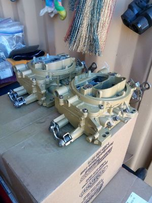 AFB manual secondaries 625 CFM rebuilt must have Cores for Sale in CO, US