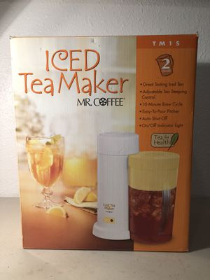 Mr. coffee iced tea maker brand new in the box for Sale in Lowellville, OH